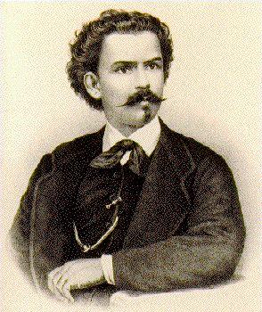 """Antonio Carlos Gomes , brasilero da cidade de Campinas - SP . O maior compositor clássico do Brasil ; autor da Ópera """"O Guarani""""."""