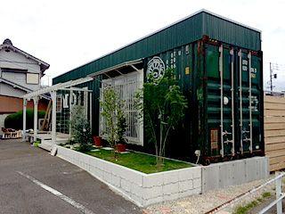 春日井市コンテナカフェ
