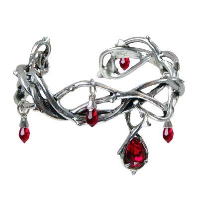 Alchemy Gothic arm bracelet Passion armband - Swarovski\ http://www.attitudeholland.nl/haar/body-sieraden/sieraden/armbanden/passion-armband-swarovski/