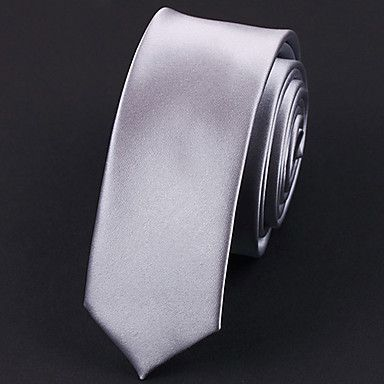 5+cm+de+ancho+corbata+de+seda+de+plata+–+EUR+€+5.87