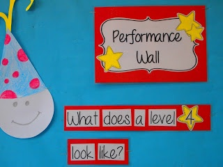 Inspired in Second: Performance Walls-help kids strive for higher achievement! Pinned by SOS Inc. Resources. Follow all our boards at pinterest.com/sostherapy/ for therapy resources.