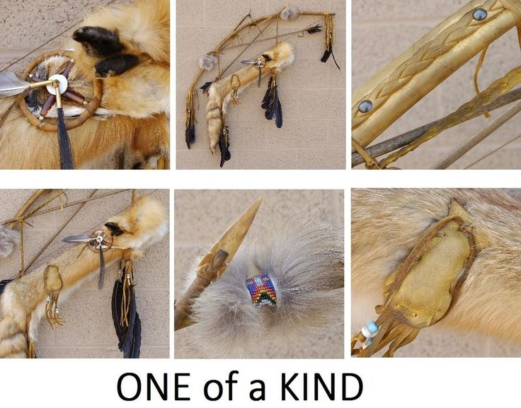 """36"""" long American Red Fox Quiver Bow and Arrows Plus FREE GIFT #"""