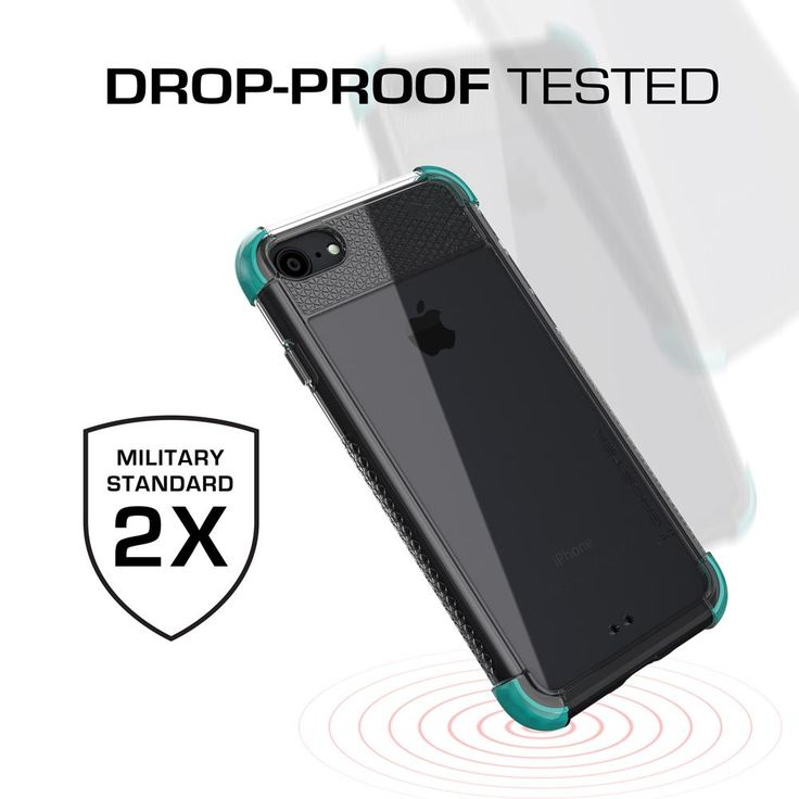 iPhone 7 Case, Ghostek Covert 2 Series for iPhone 7 Protective Case [TEAL] …