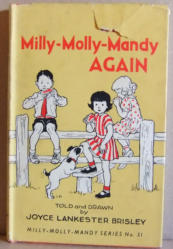 Milly Molly Mandy by Joyce Lancaster Brisley. Don't you just love these books?