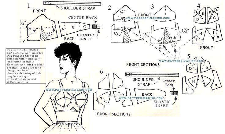 bullet bra construction