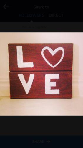 'LOVE' Sign