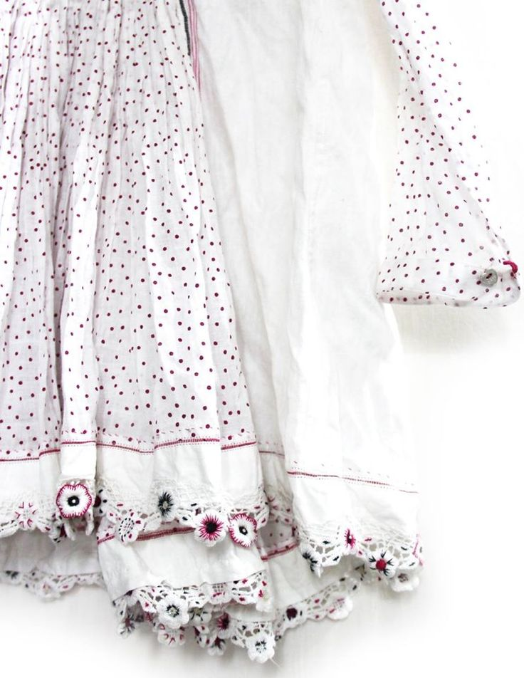 SS14 chota péro dress detail