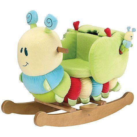 Buy Little Bird Told Me Curious Caterpillar Infant Rocker Online at johnlewis.com