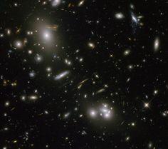 Looking Through Abell 68   Credit: NASA, ESA, Hubble Heritage/ESA-Hubble Collaboration - Acknowledgment: Nick Rose [APOD]
