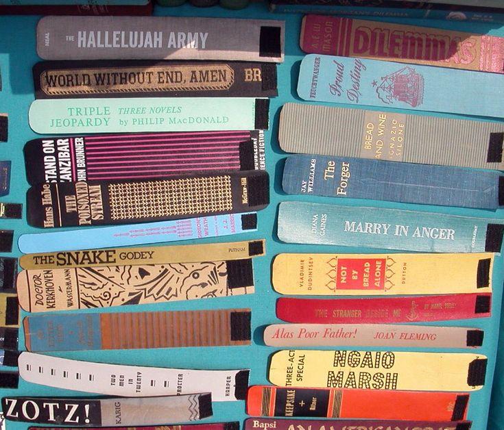 Book Spine BraceletsSlap Bracelets, Bracelets So, Spine Bracelets, Book Bracelets