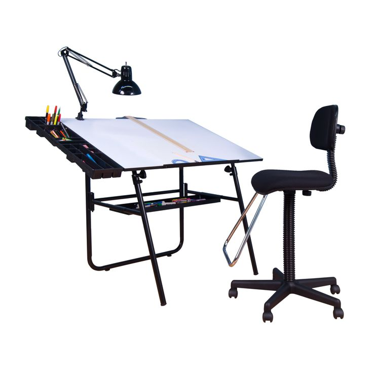 Studio Designs 4 Piece Ultima Drafting Table Set with Maxima II Chair  sc 1 st  Pinterest & 33 best Studio Designs Drafting Chairs and Stools images on ... islam-shia.org