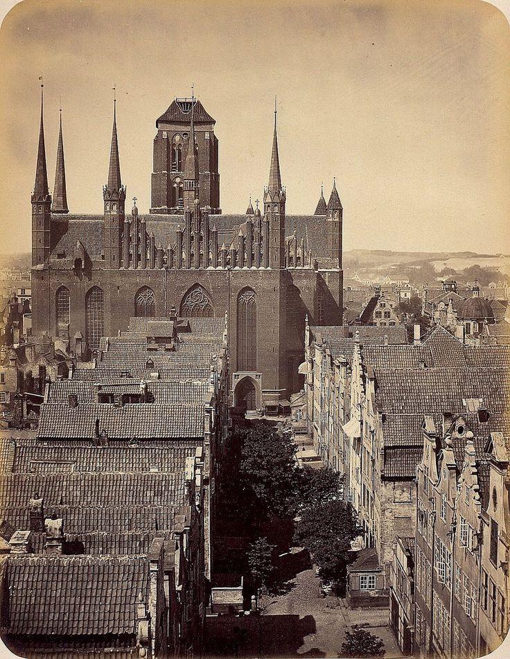Danzig/Gdańsk - St. Mary's Church, 1865