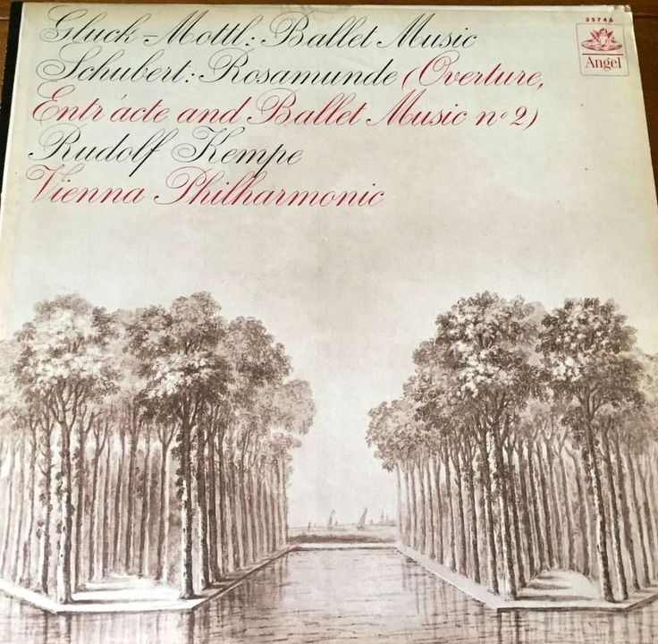 Rudolf Kempe - Gluck-Mottl: Ballet Music - Angel 35746 - First Pressing - Mono #Classical #Music #Vinyl #Album