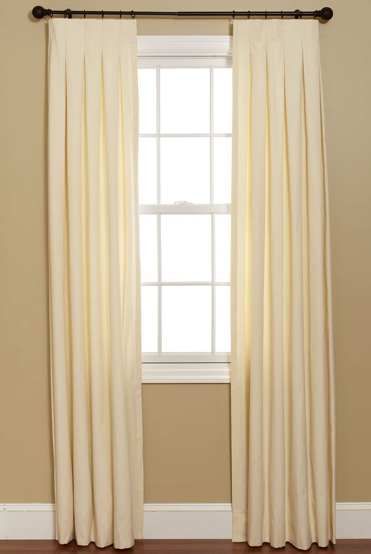 box pleat curtians - Google Search
