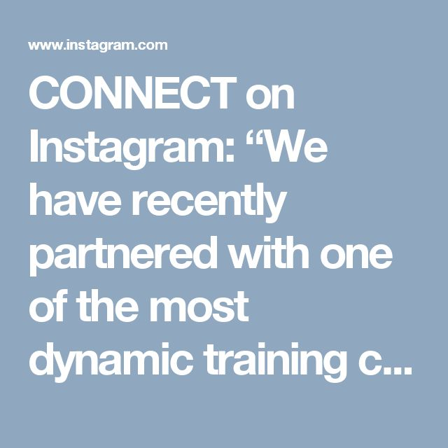 "CONNECT on Instagram: ""We have recently partnered with one of the most dynamic training companies in South Africa and are thrilled to now offer customised…"" • Instagram"