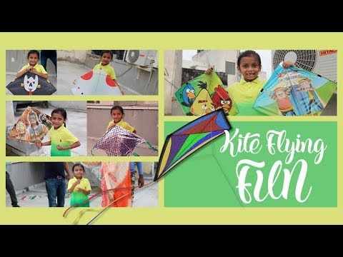 India's Independence Day Kite Flying Fun India - YouTube