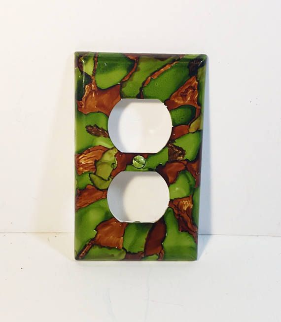 Camo Inspired Outlet Plate Switchplate Camo Room Boy