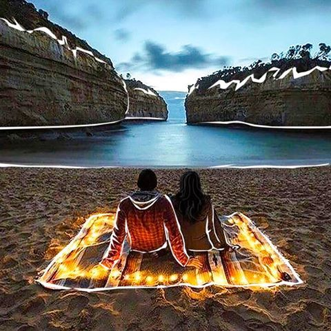 Sadece sakinlik arıyorduk, fazlasını bulduk 🌅 •  •  •  •  •  #silence #lovers #sea #mountain #camping #illustration #artwork #art #artist #artdaily #dailyart #travel #travelblogger #instagood #instagram #instaartist #instacool #instalike #coolgirl #traveling #blogger