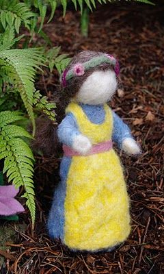 DIY - Needle Felted Mother Earth Doll
