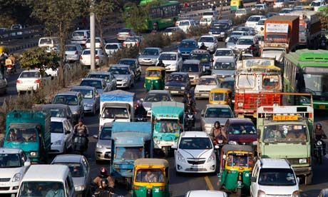 Delhi's traffic chaos has a character of its own | Jason Burke