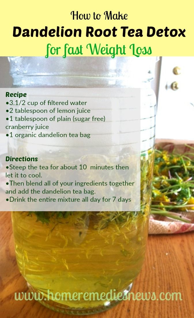 Weight Loss Detox Tea Recipe