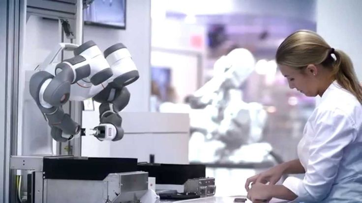 The new era of robotic co-workers is here. YuMi® makes collaboration between humans and robots a reality. #ABBRobotics