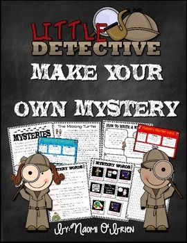 The Making of a Mystery Lesson Plan