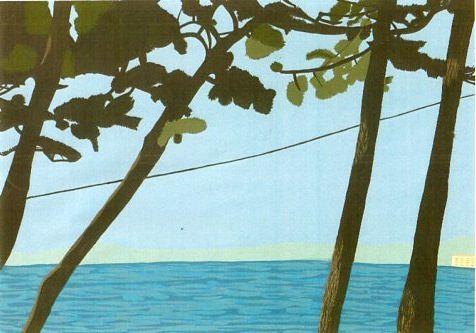 葉山の海。