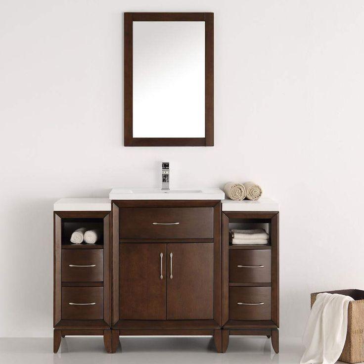 Fresca Cambridge 48 inch Traditional Bathroom Vanity FVN21-122412