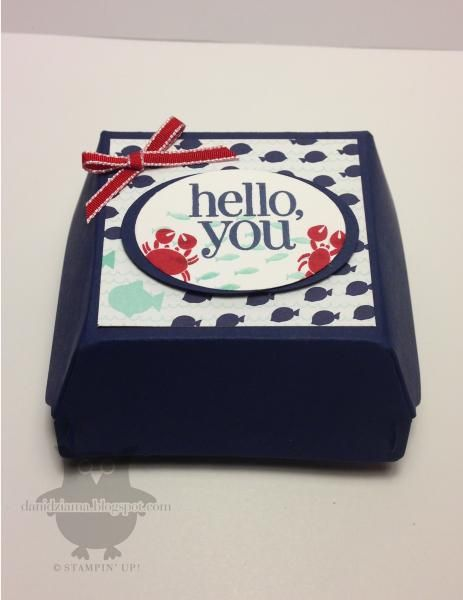 Hello, you!  Hamburger Box