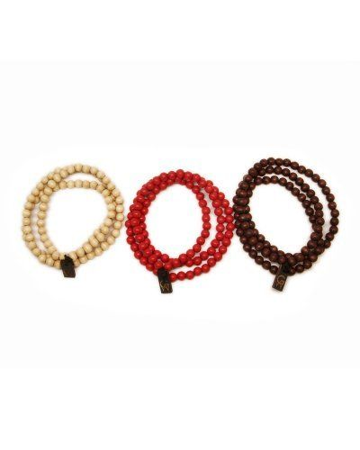 GoodWood NYC Authentic 3-Pack Natural/Red/Darkwood Wooden Necklaces GoodWood NYC. $32.00. Genuine GoodWood NYC crafted product.. 3 30-inch beaded wooden necklaces - natural, red, darkwood.