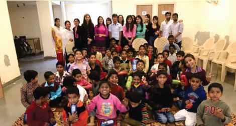 Dr. Kavita Khanna, Ms. Meghna Sharma, Ms. Hitesh along with nine students of 2nd Year and 3rd Year CSE visited the orphanage Asha Greha on 25 Feb 2017. The main objective of the visit was to develop empathy, care and gratitude in our engineering students so that they turn out to be better individuals and thus contribute to the needs of the society. The visit was really heart-touching as the students interacted with the kids and tried to bring a smile on their faces.