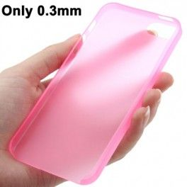 0.3mm Ultra Thin Polycarbonate Materials TPU Protection Shell for iPhone 5 - Pink iPhone Case murah hanya di Gudang Gadget Murah. 0.3mm Ultra Thin Polycarbonate Materials TPU Protection Shell for iPhone 5 - Pink
