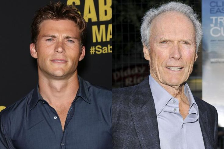 "SCOTT EASTWOOD AND CLINT EASTWOOD Scott Eastwood looks exactly like his dad Clint did in his younger days … meaning, he's pretty hot. He's an accomplished actor, appearing briefly in two of his dad's movies: Gran Torino and Invictus, and also in Fury and The Longest Ride. He has also modeled for Davidoff's men's fragrance titled Cool Water. The hottie was in Taylor Swift's video for ""Wildest Dreams."""