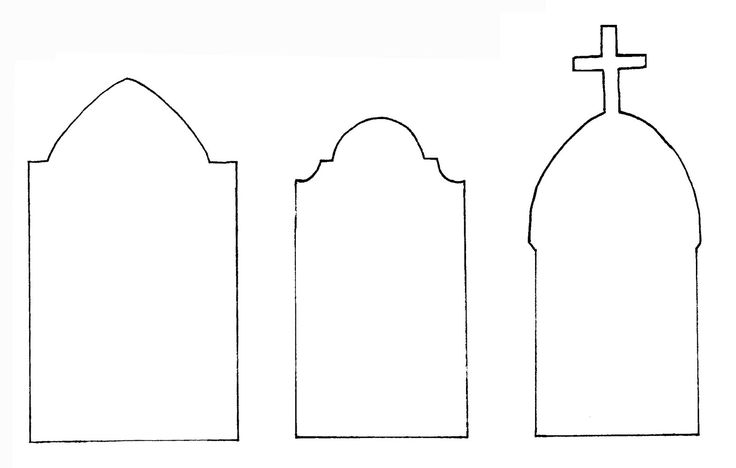 tombstone templates for halloween the gallery for tombstone outline