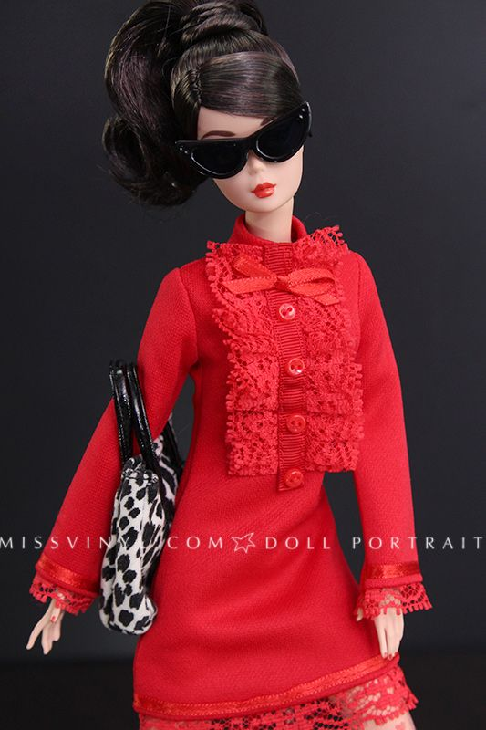 BFMC Classic Dress Madrid Convention doll in Marcelo Jacob's dress