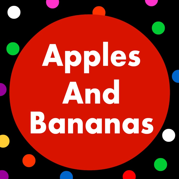 Apples and Bananas Lyrics