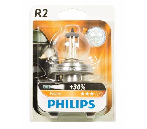 Philips Standardlampen R2 Visio 12475c1 12v 45 40w 1 St Im Blister Bild 1 Lampe Lampen Autos