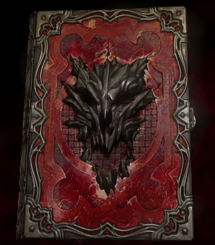 Castlevania Lords of Shadow 2 book--I loved how they toed this book into a bunch of aspects of the game, great touches like these are why this reboot is my fave of all time!!!