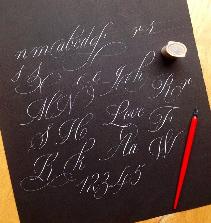 172 Best Images About Hand Drawn Fonts On Pinterest