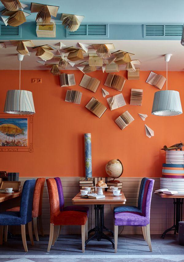 Семейное кафе в Москве на Мичуринском проспекте: интерьер, вдохновленный путешествиями | Admagazine | AD Magazine