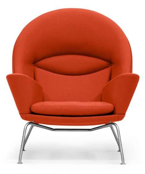 Roomy Retro Armchairs - The Oculus Chair is a Stunning Posthumous Design (GALLERY)