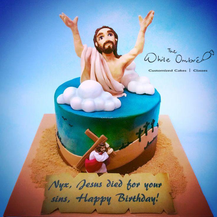 Jesus Saves - Cake by Nicholas Ang