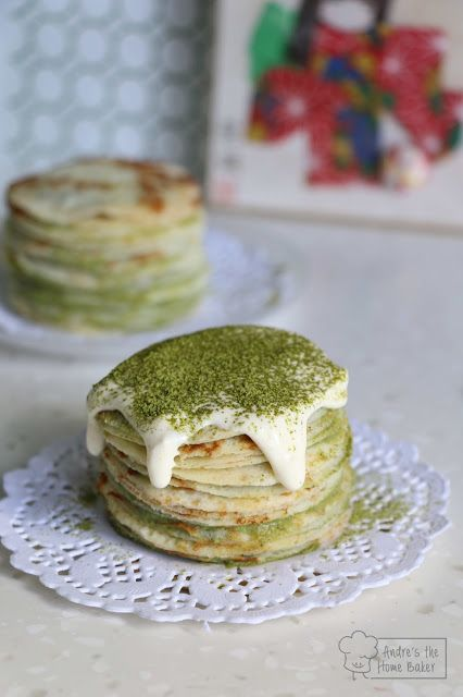 Matcha Mille Crepe by Andresthehomebaker - Sweeter Life Club