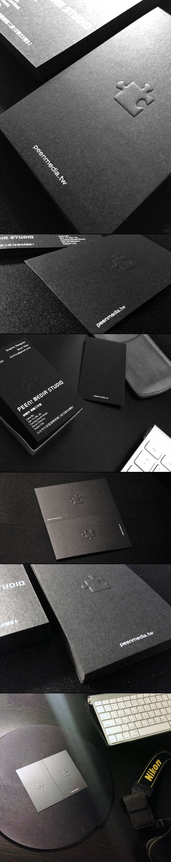 Peen! Media Studio Business Card Design by Sion Hsu