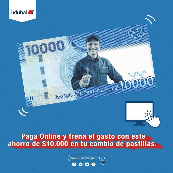 #ElAhorroDelAhorro!💯👌Prefiere nuestras #Pastillas de freno #Exportadas y ahorra $10.000 al pagar por internet💸. ✳️El pago por internet debe ser con #24Horas de anticipación.