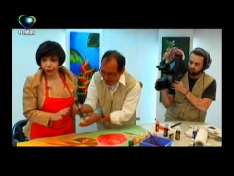 MARAVILLOSO MUNDO PINTURA CON ESTELITA DEL LLANO 04