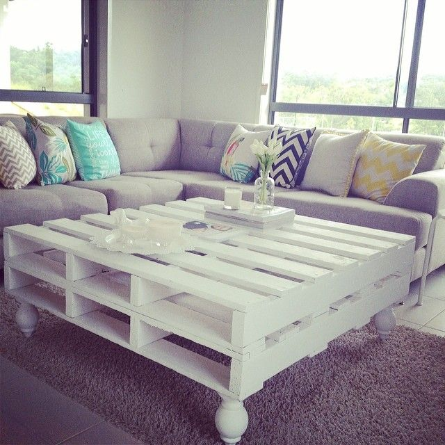 White Pallet Coffee Table best 25+ palette coffee tables ideas on pinterest | palette table
