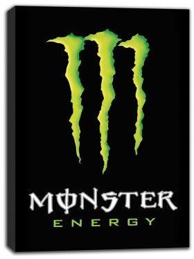 Monster Energy Canvas Print Wall Art