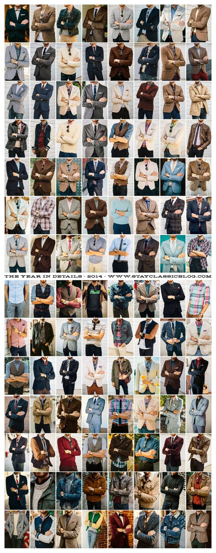 Details of 112 outfits from 2014. See you in 2015.